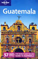 Cover of the lonely planet Guatemala