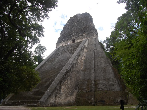 Temple 5 in Tikal